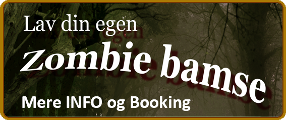 Lav din egen zombiebamse - en workshop for de 7-15 årige.
